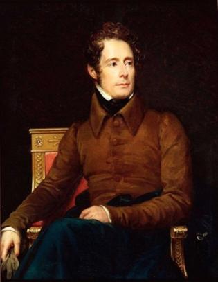 Portrait d'Alphonse de Lamartine