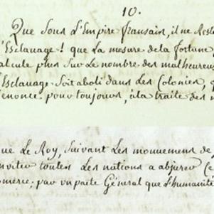 Le cahier de doléances de Toulon-sur-Arroux