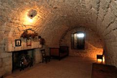Cellule Toussaint Louverture au Château de Joux
