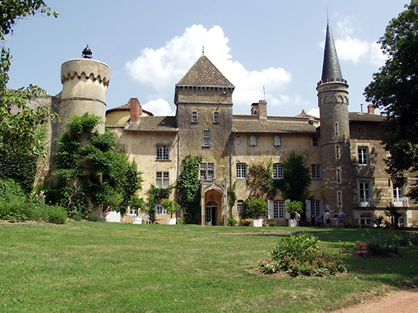 Le château Lamartine à Saint-Point
