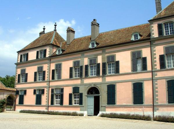 Le chateau de la famille Necker-De Staël à Coppet en Suisse.