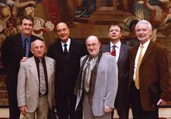 Os representantes da « rota das aboliçoes da escravidao »