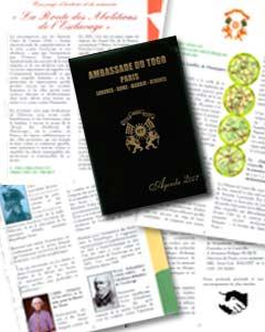 agenda de la embajada de Togo