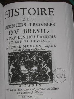 Ouvrage de Pierre Moreau paru en 1651 à Paris