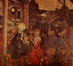 Les rois mages - Eglise de Champagney