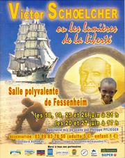 Affiche du spectacle Schoelcher en 1998