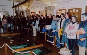 Visite du Lycée Louis Garnier - 2005, visite de groupes scolaires
